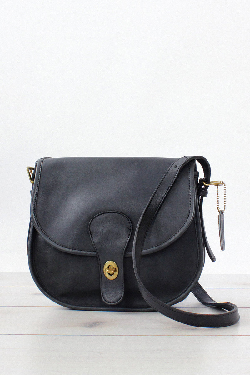 Coach Turnlock NYC Satchel
