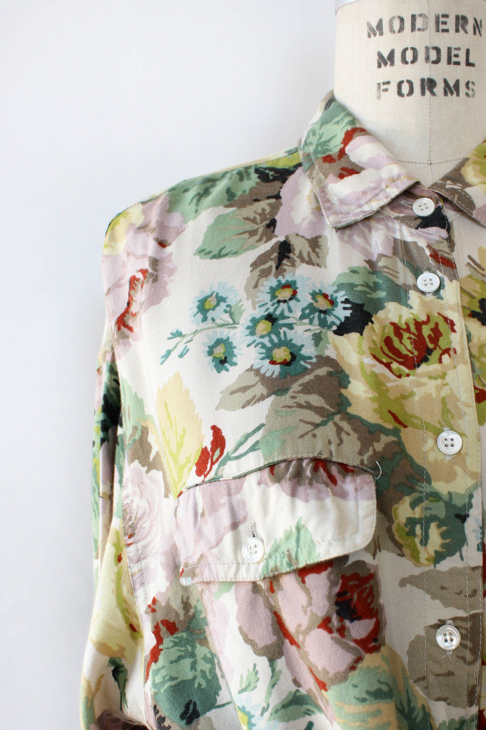 Tea Rose Garden Blouse