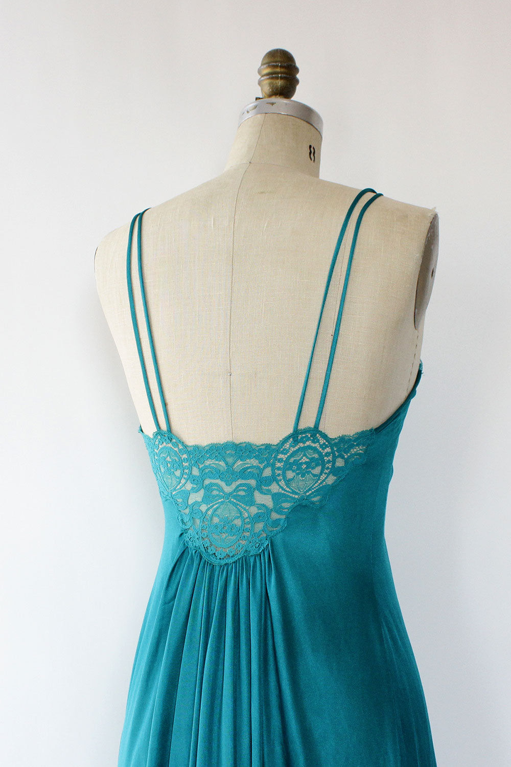 Teal Maxi Slipdress XS/S