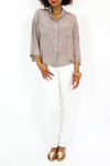 slouchy silk top S