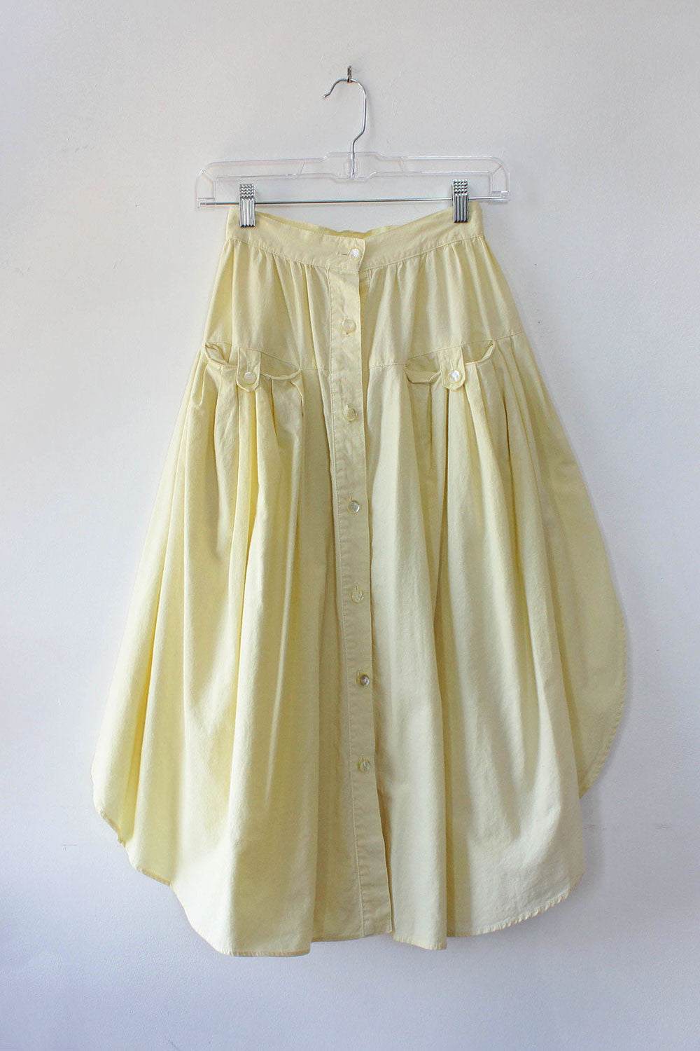 Buttercup Cotton Button Skirt XXS