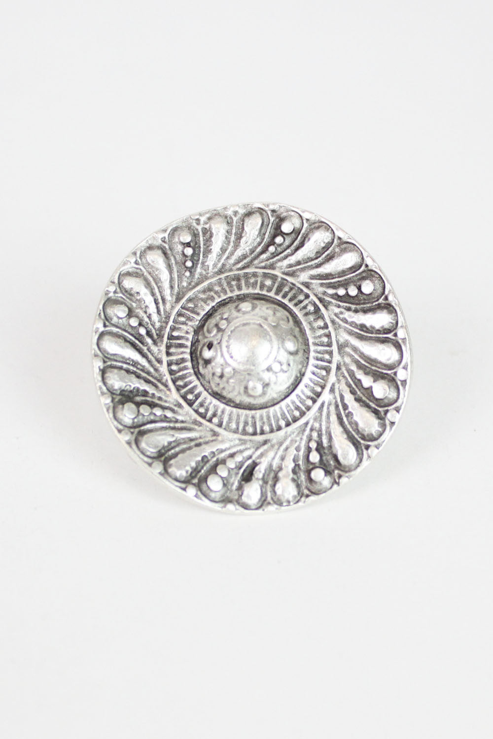 petal medallion ring