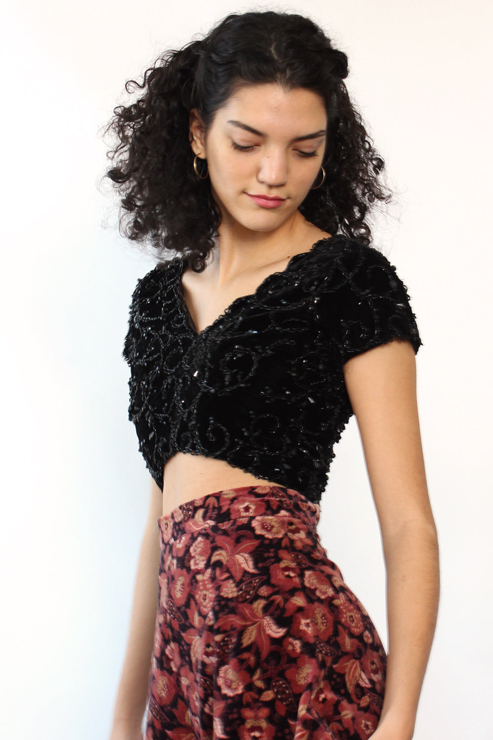 Lola Velvet Twilight Crop XS/S