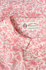 Peck & Peck Pink Floral Buttondown S