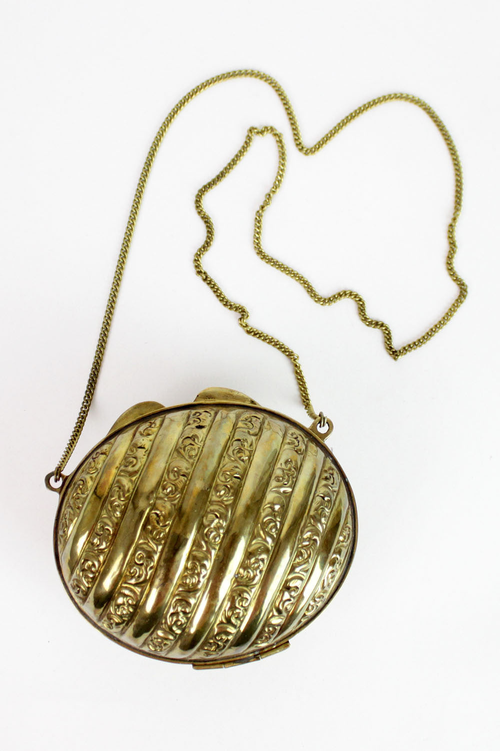 Lucky egg brass bag