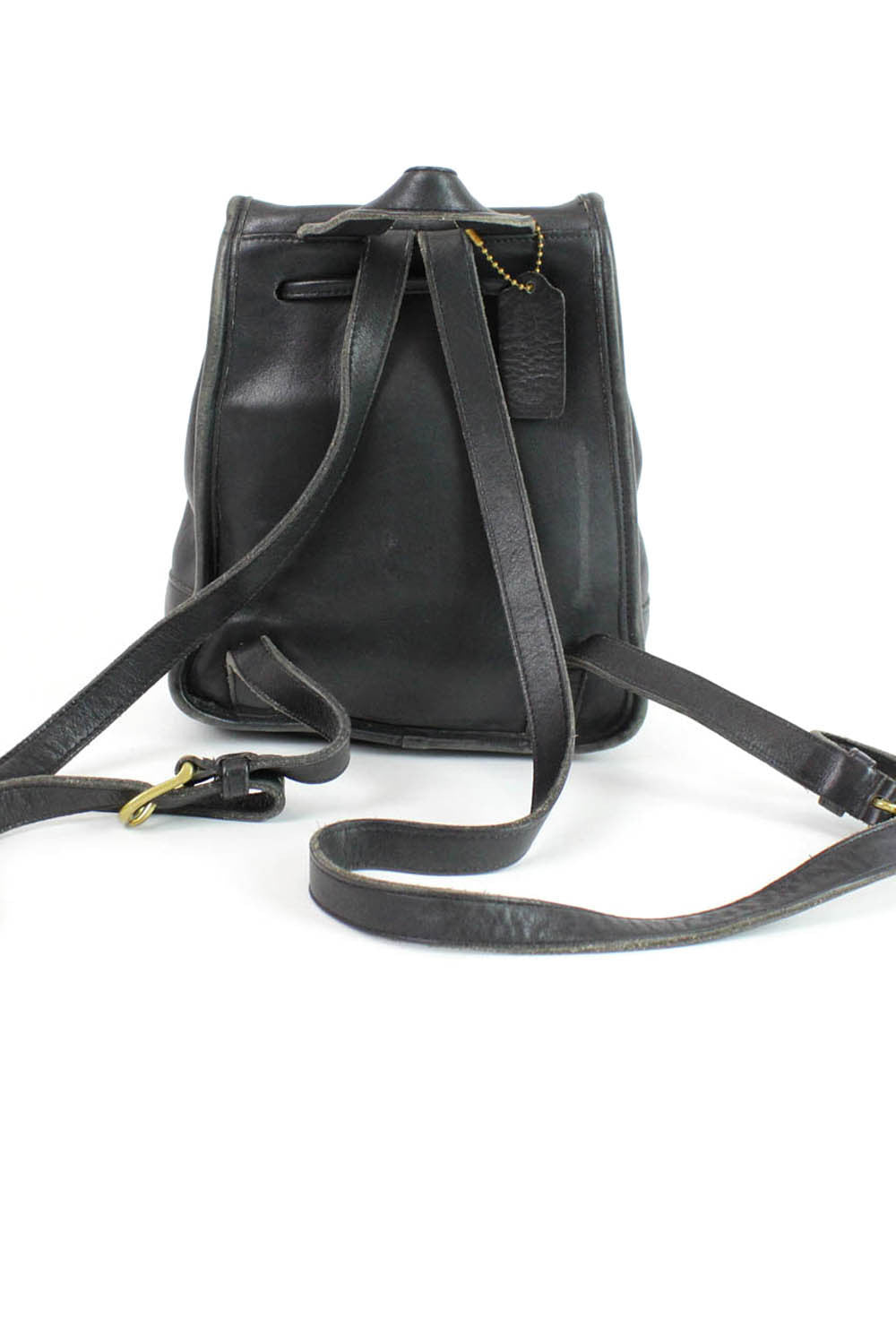Coach leather backpack