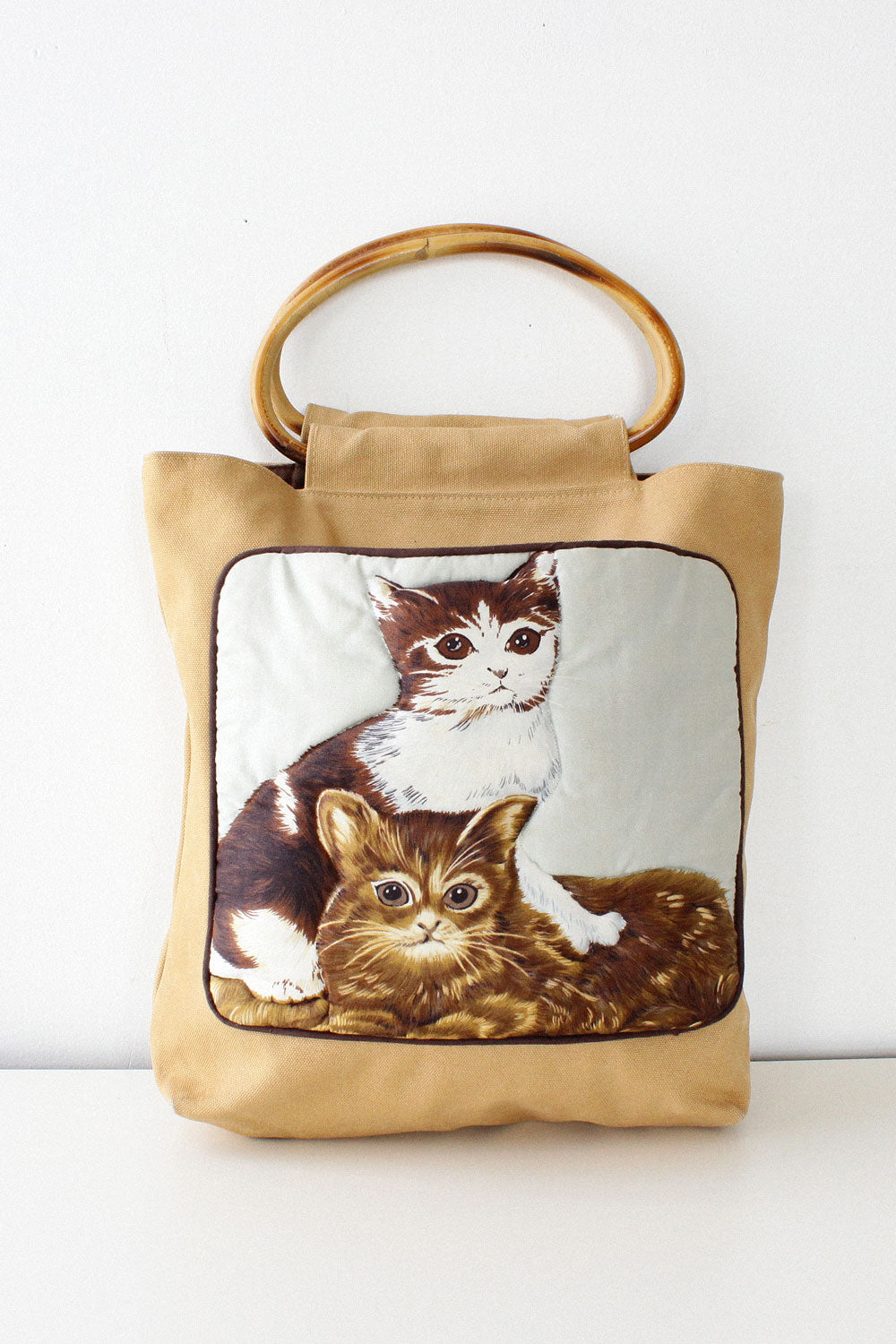 Canvas Cat Bag
