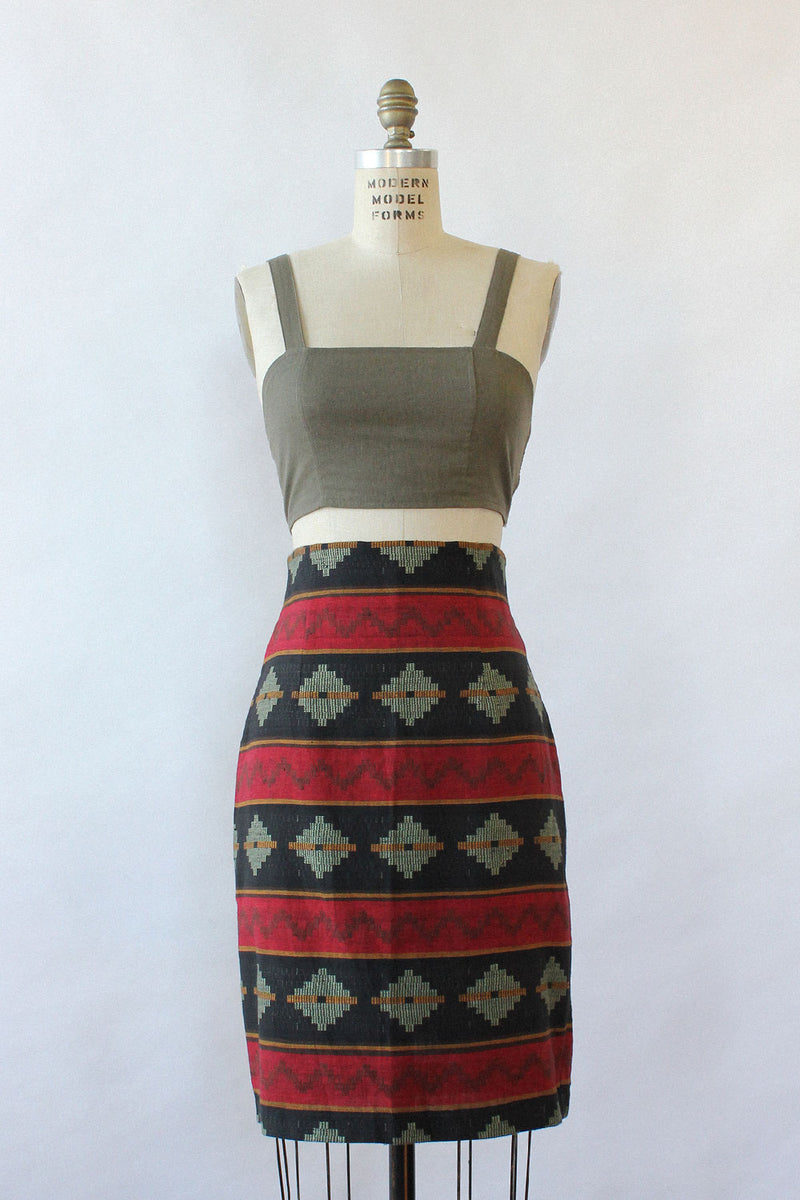 Tucson High Waist Pencil Skirt L