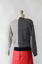 St. John Criss Cross Sweater M/L