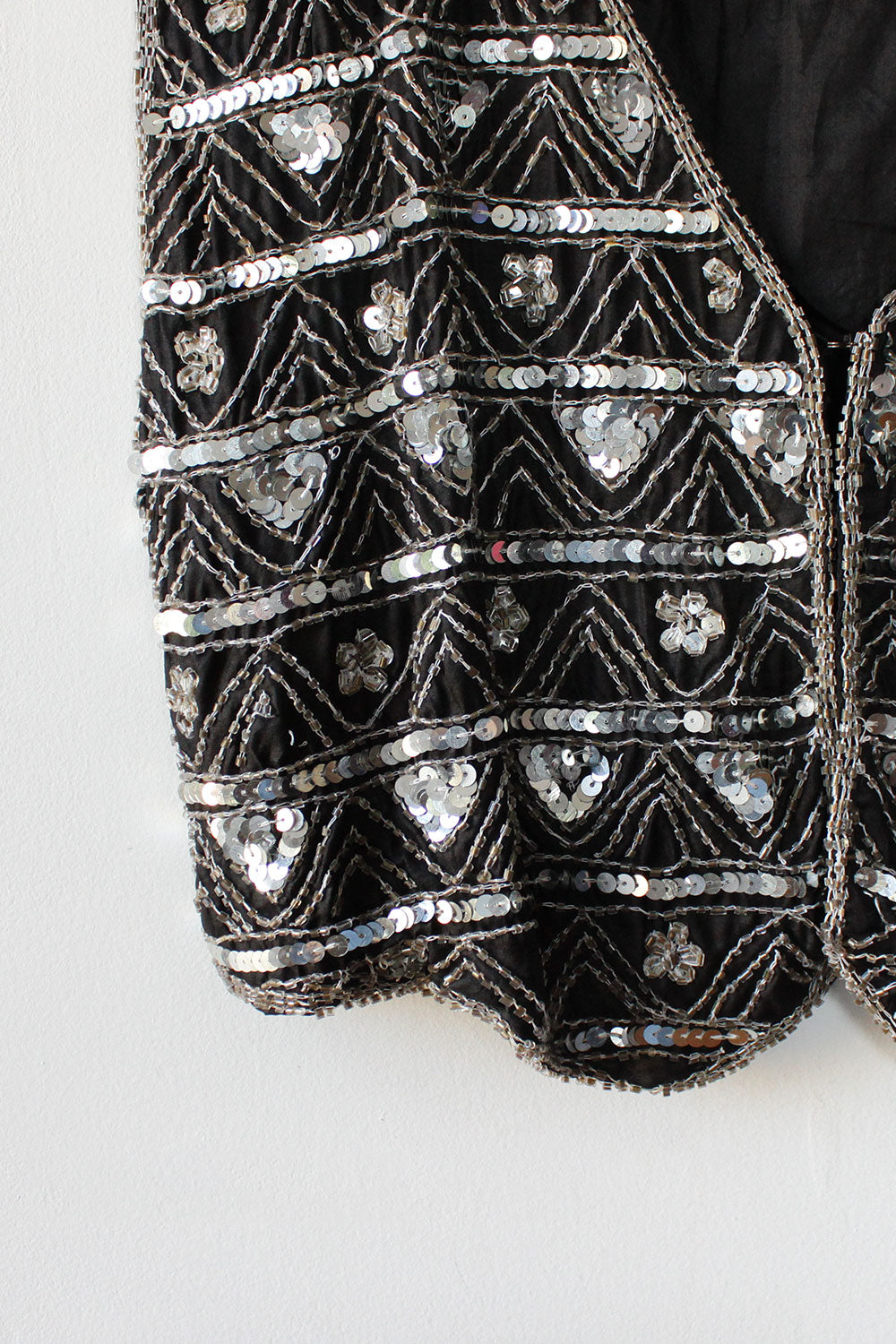 Ball Drop Beaded Vest