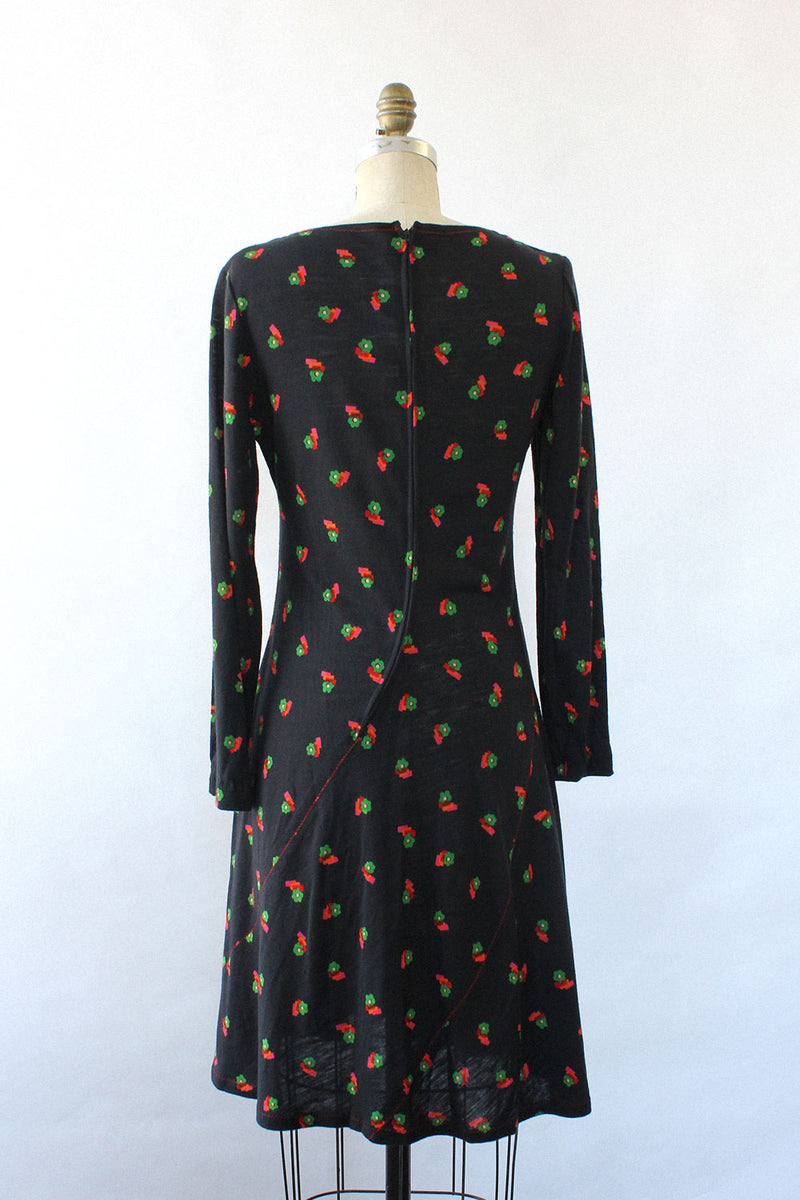 Flowerbox 70s Knit Dress M
