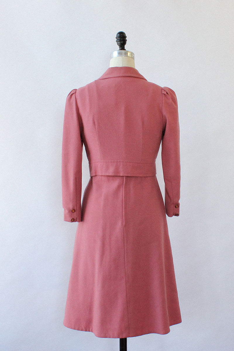 Rose 1970s Two Piece Set XS/S
