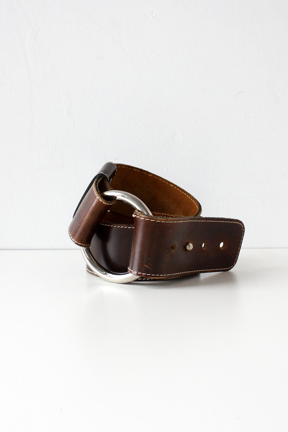 Heavy O-Ring Cinch Belt