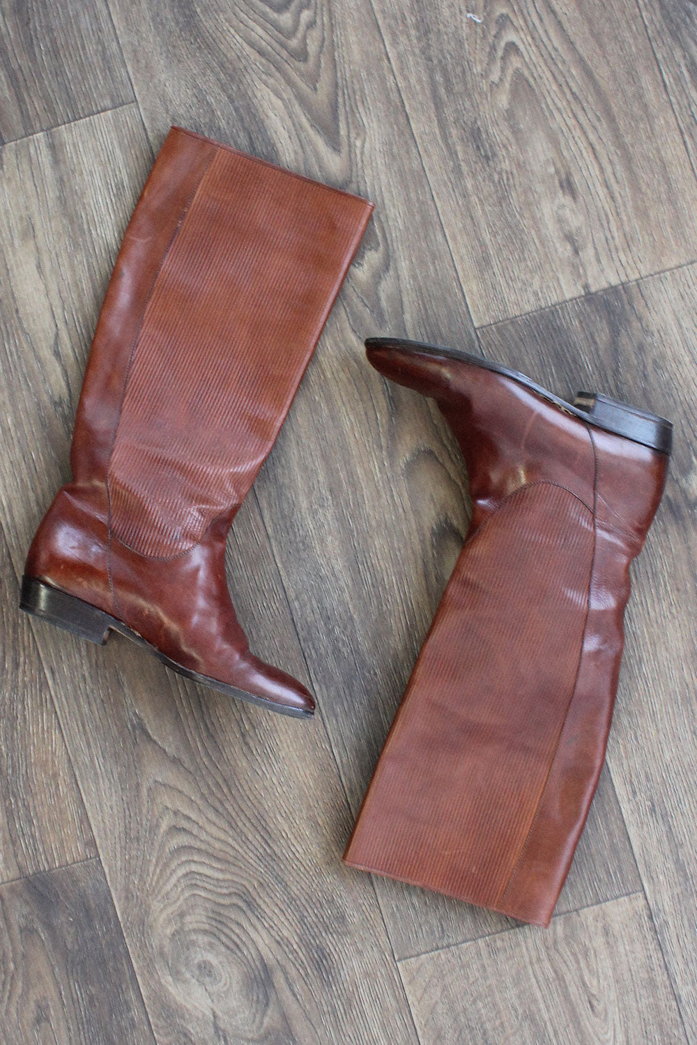 Textured Tall Boots 6 1/2