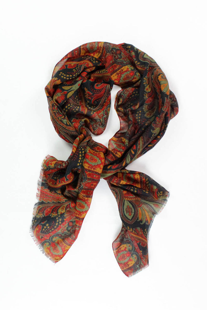 Paisley Montague Scarf {Long}