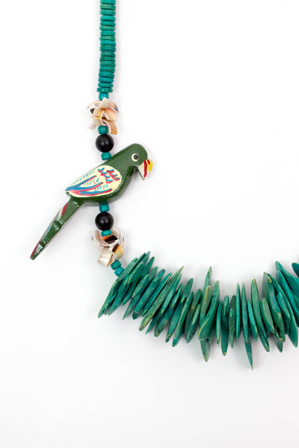 Fraggle Parrots Necklace