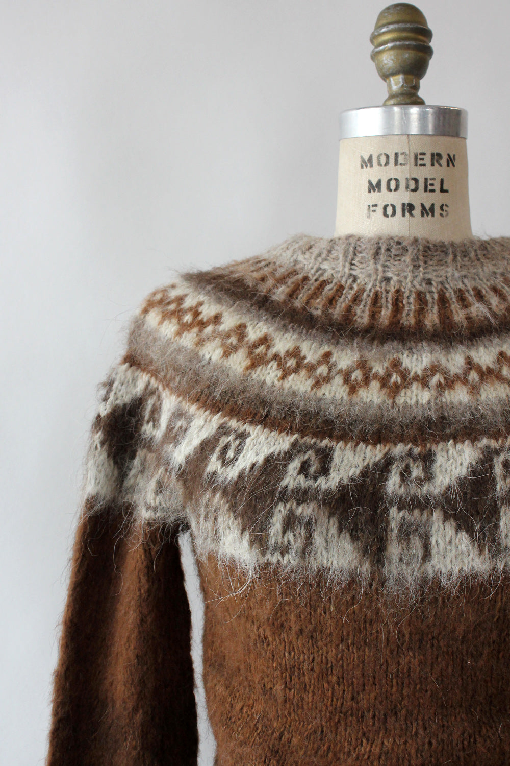 Oaknoll Fair Isle Sweater XS-M