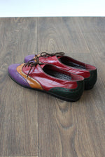 Nina Colorblock Oxfords 8 1/2