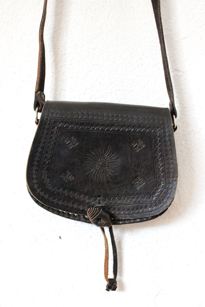 Tooled Toggle Bag