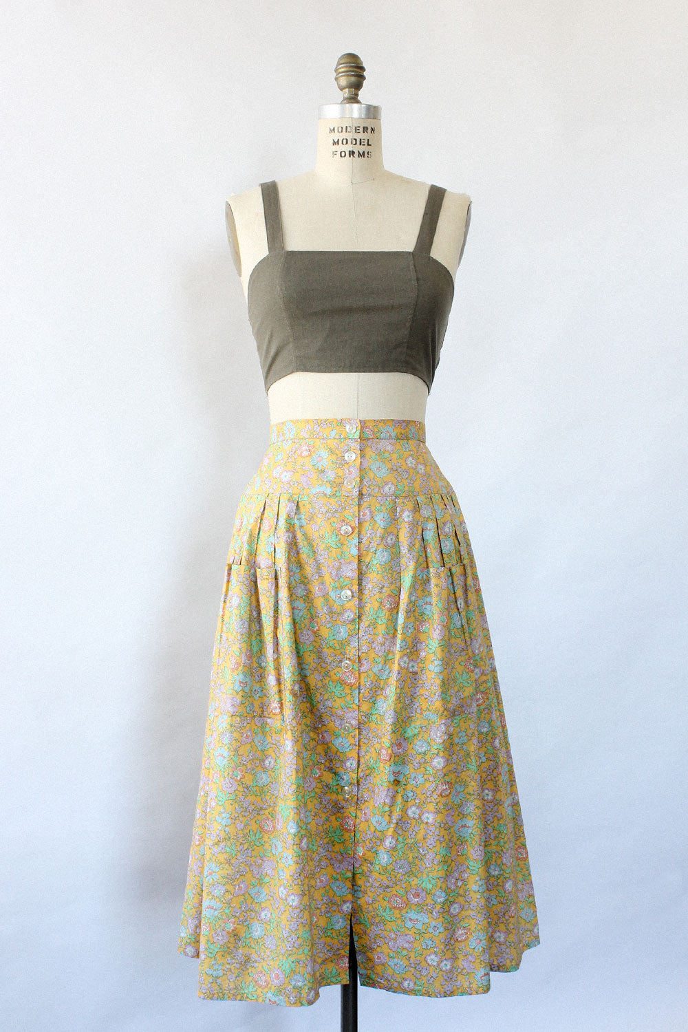 Liberty Floral Pocket Skirt M/L