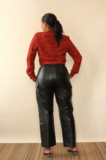 Kiss the Future! Leather Pants M