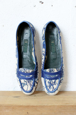 Gucci Bamboo Loafers 9 1/2