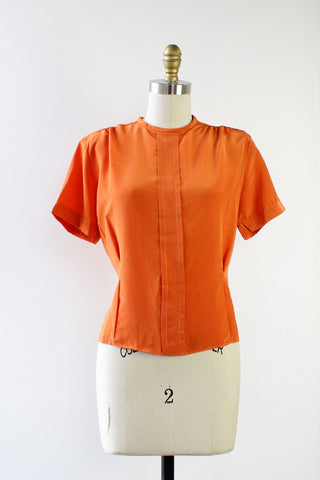 Clementine Button Back Blouse S