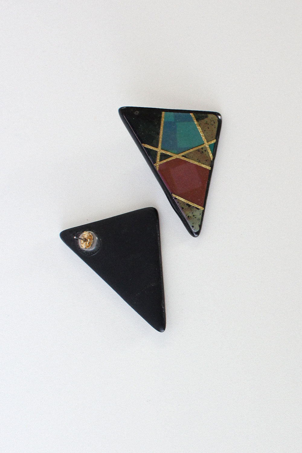 Composition Oversized Studs