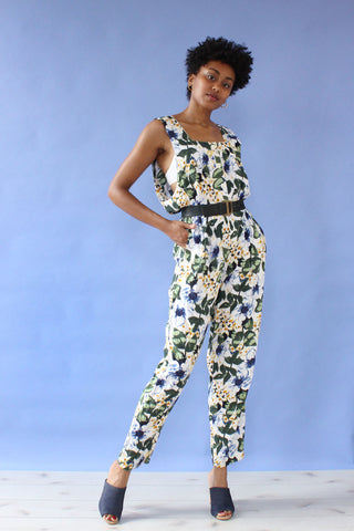 Tea Rose Balloon Jumpsuit XS-M