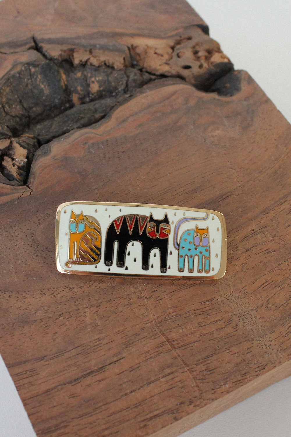 Laurel Burch Cat Pin