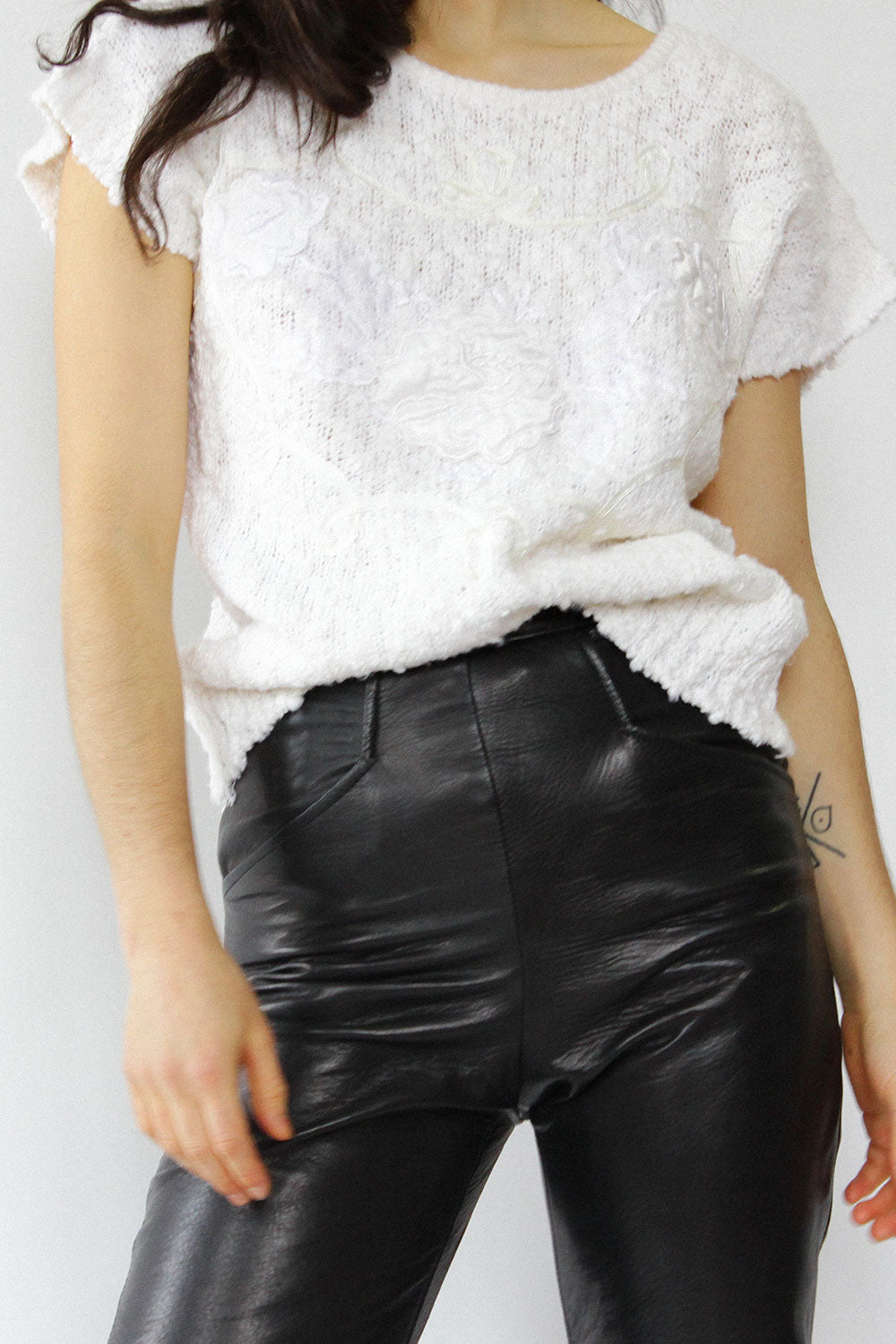 Buttery Leather Pants XXS