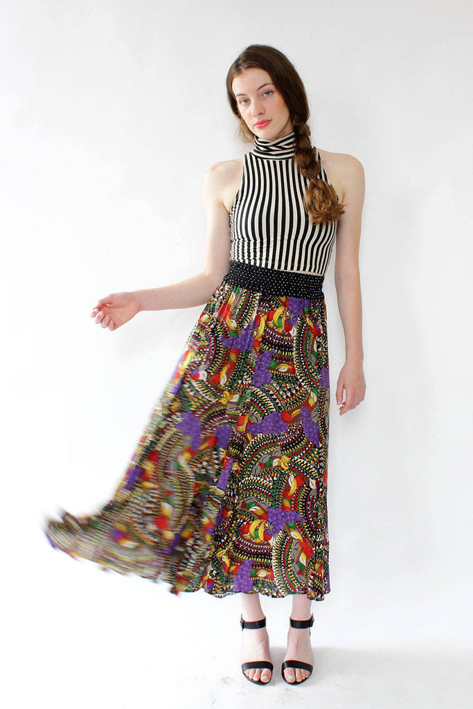 Fruity World Gauze Skirt