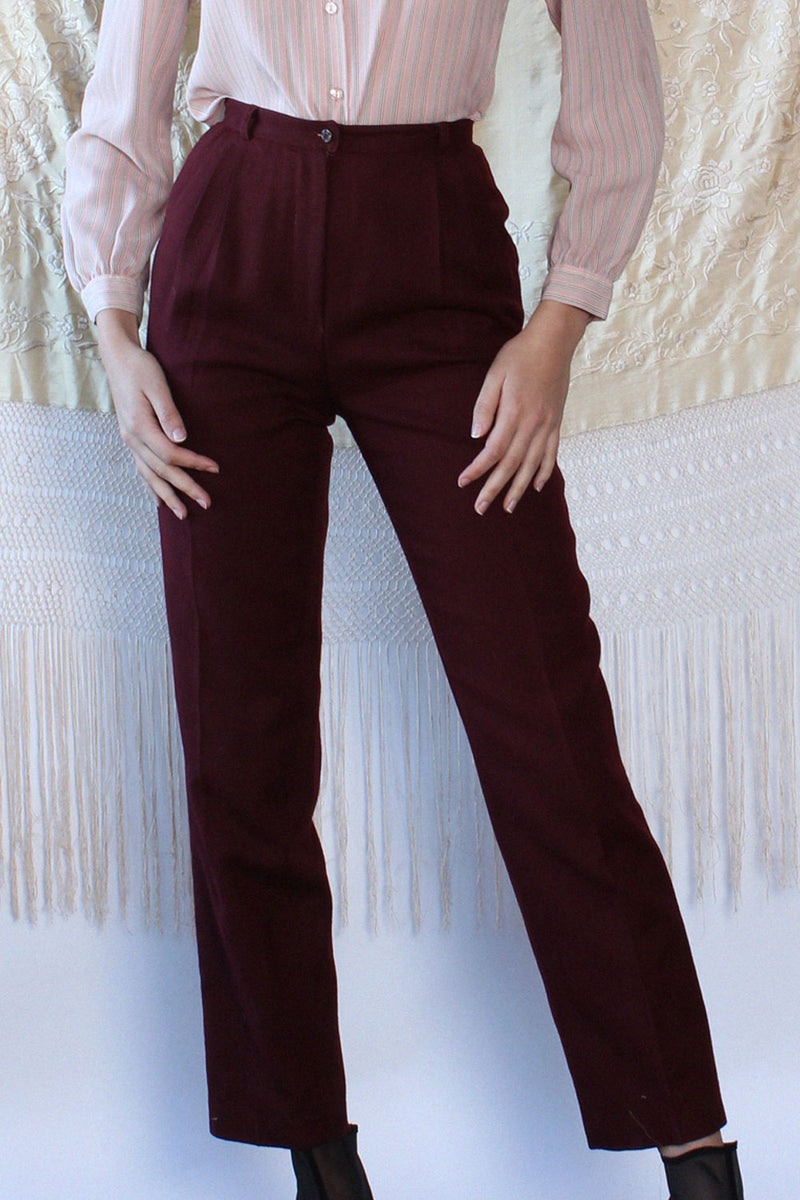 Mulberry Pleat Trousers XS/S