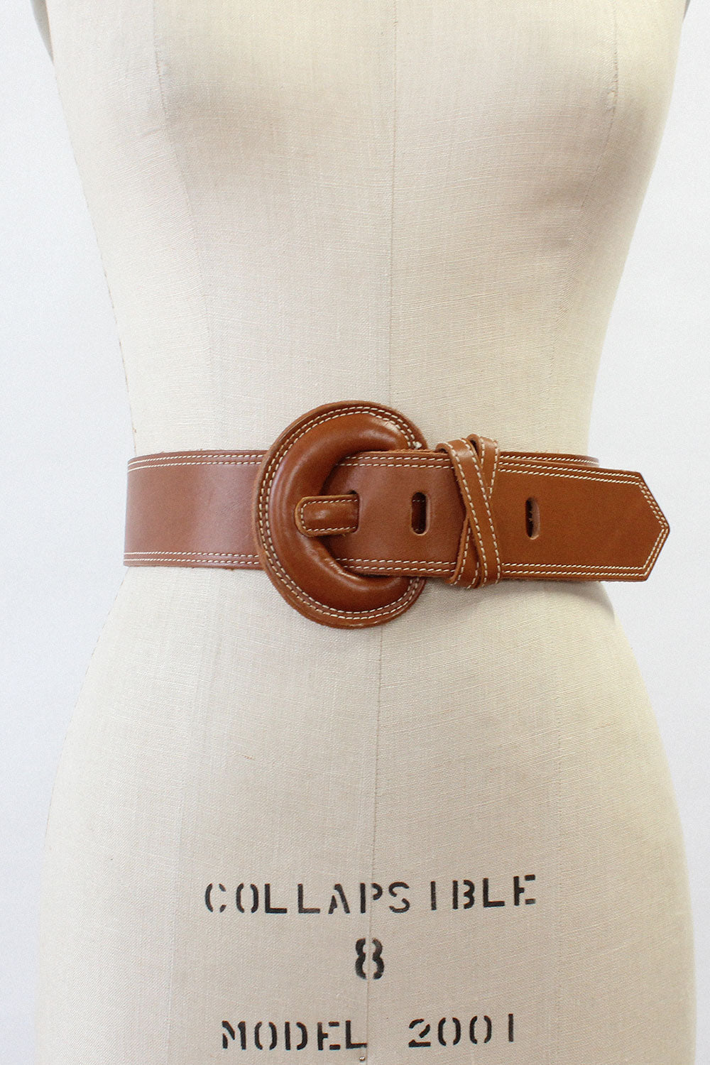 Woodward Tan Leather Belt
