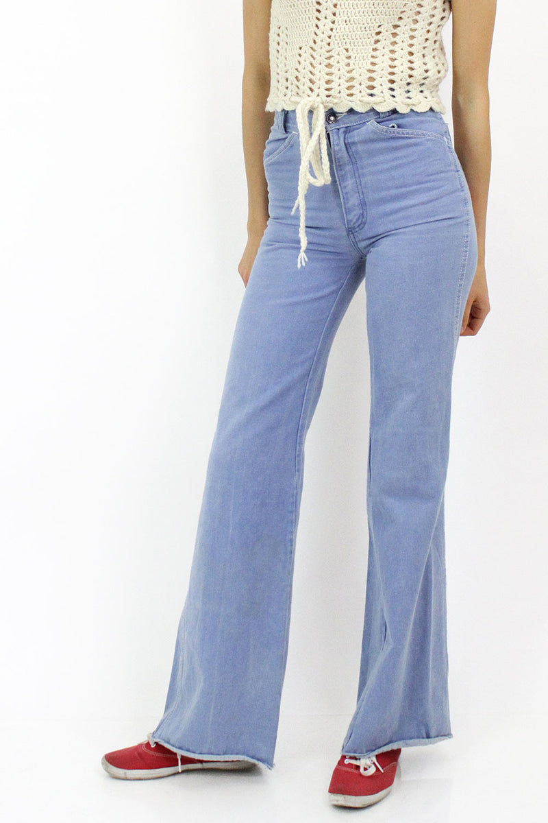 70s Creamsicle Jeans XS