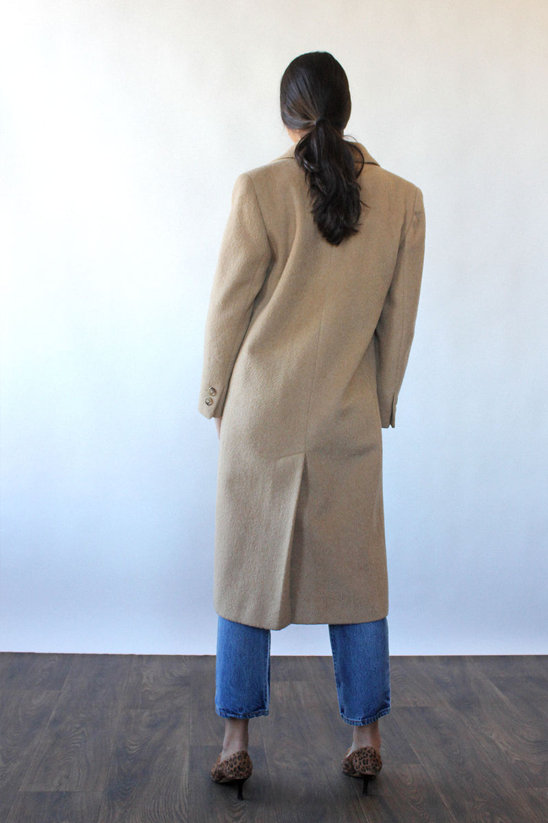 HOLD Camel Wool DB Coat S
