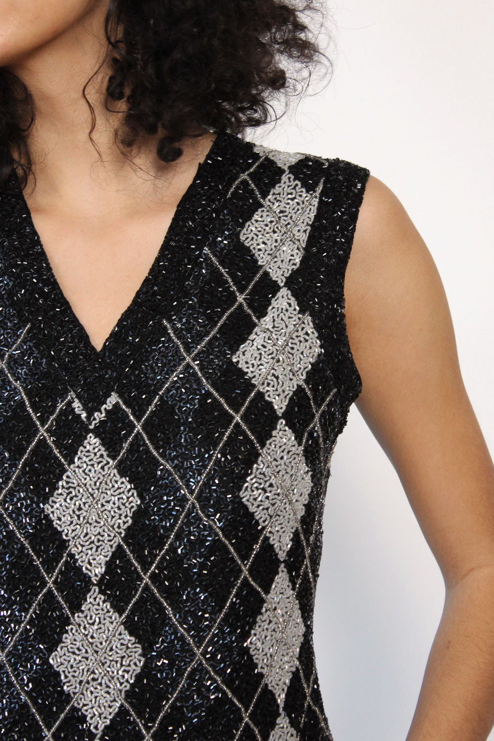 Morgan Argyle Bead Top M