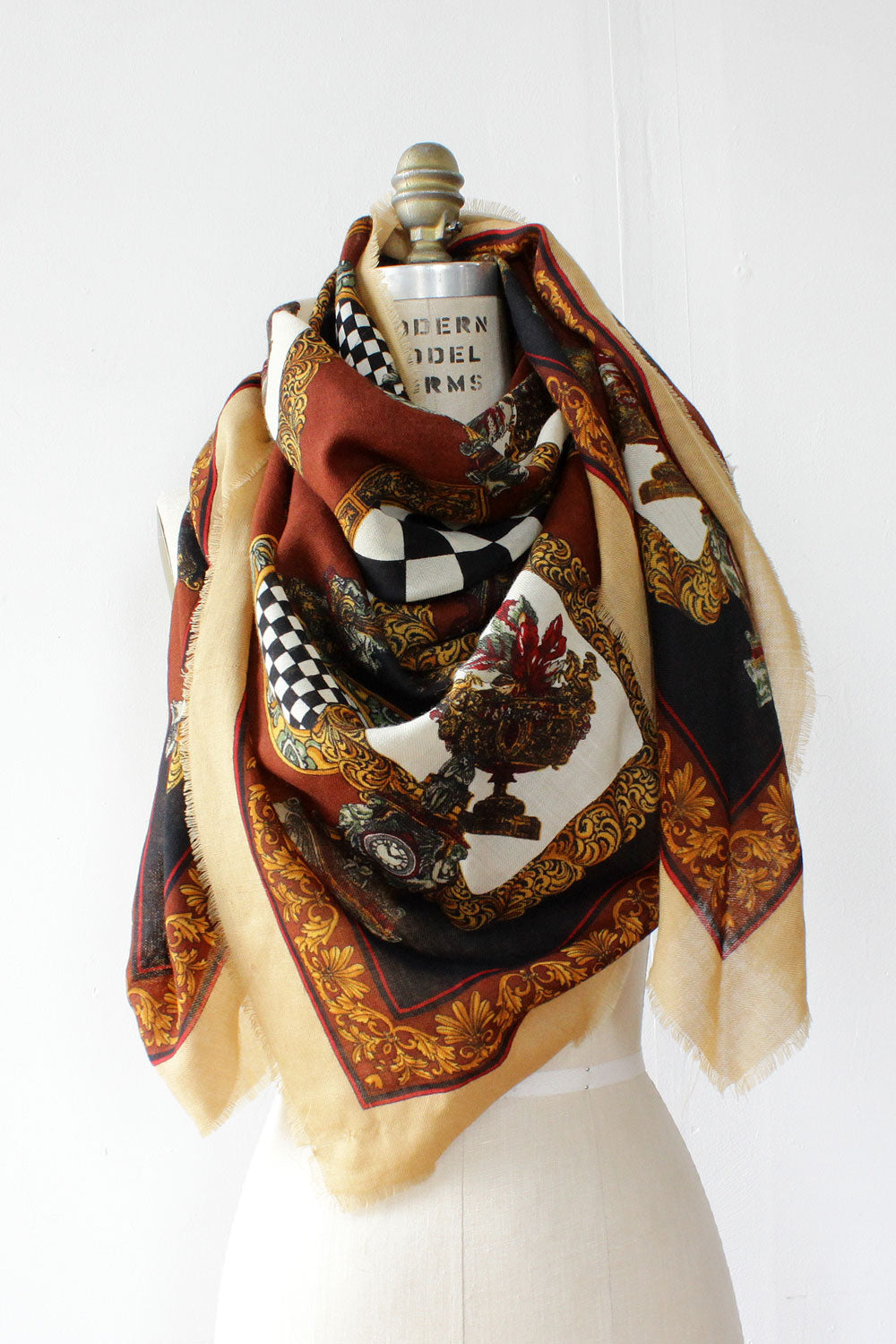 Plaza Collage XL Scarf