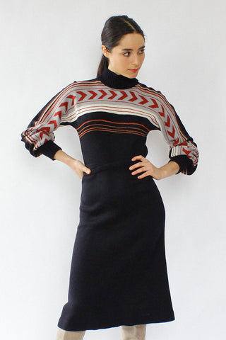 Ski Knit Sweaterdress