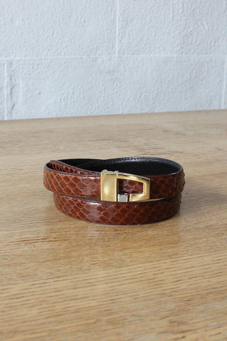 Coiled Brass Rope Belt