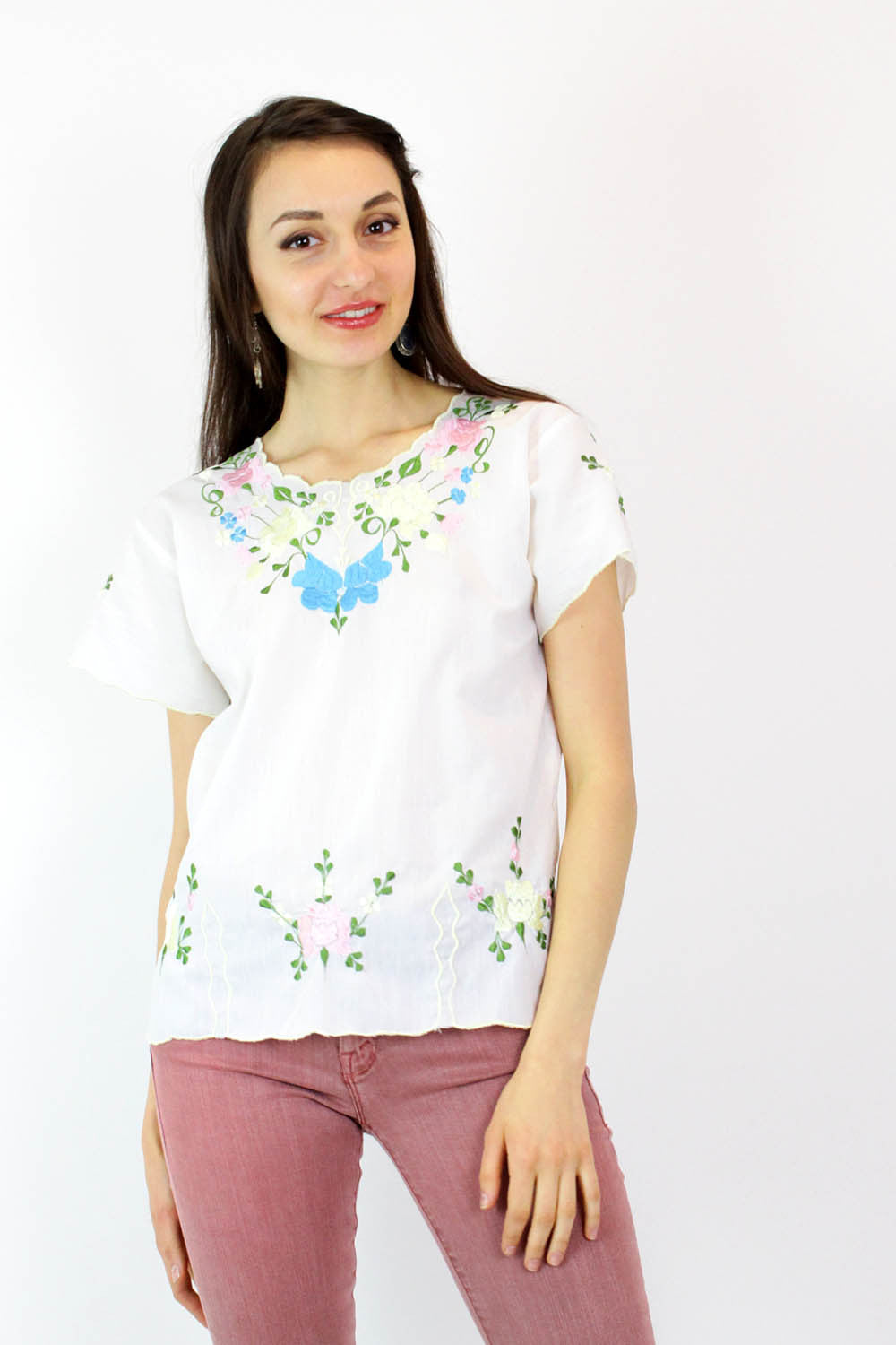 Blanca Flora Cotton Blouse S/M