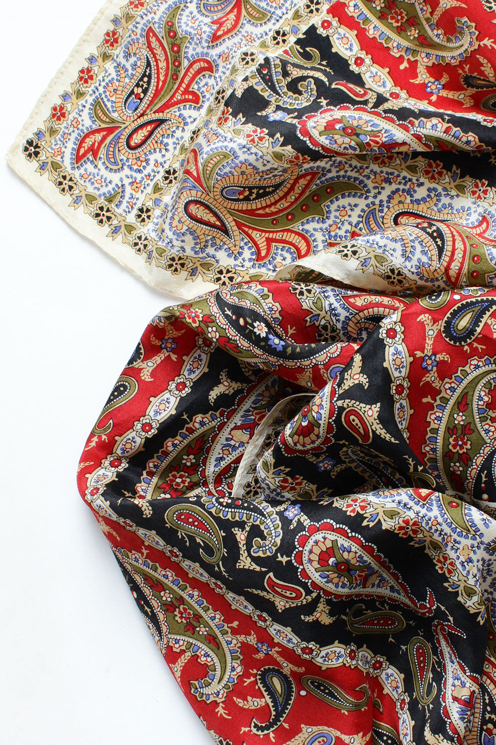 Reading Silk Paisley Scarf