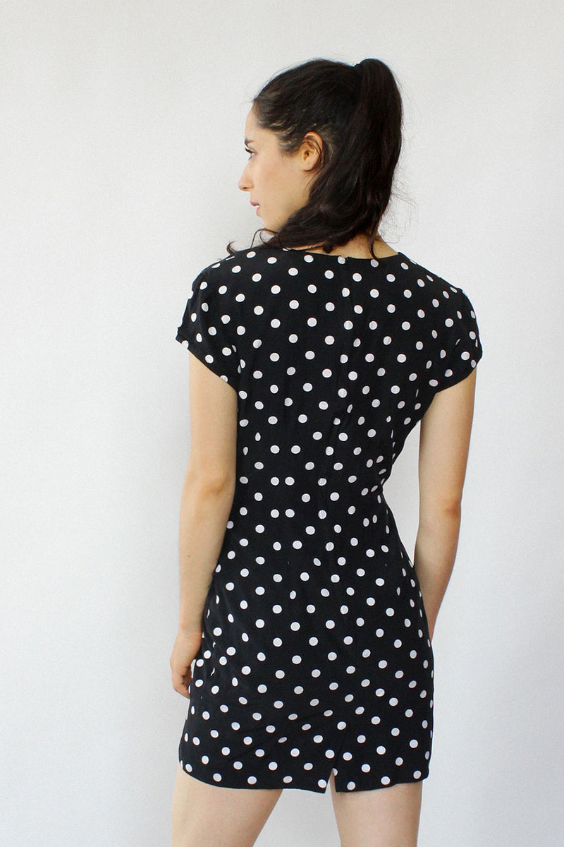 Michelle Polka Dot Mini Dress XS/S