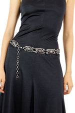 Filigree metal belt S/M