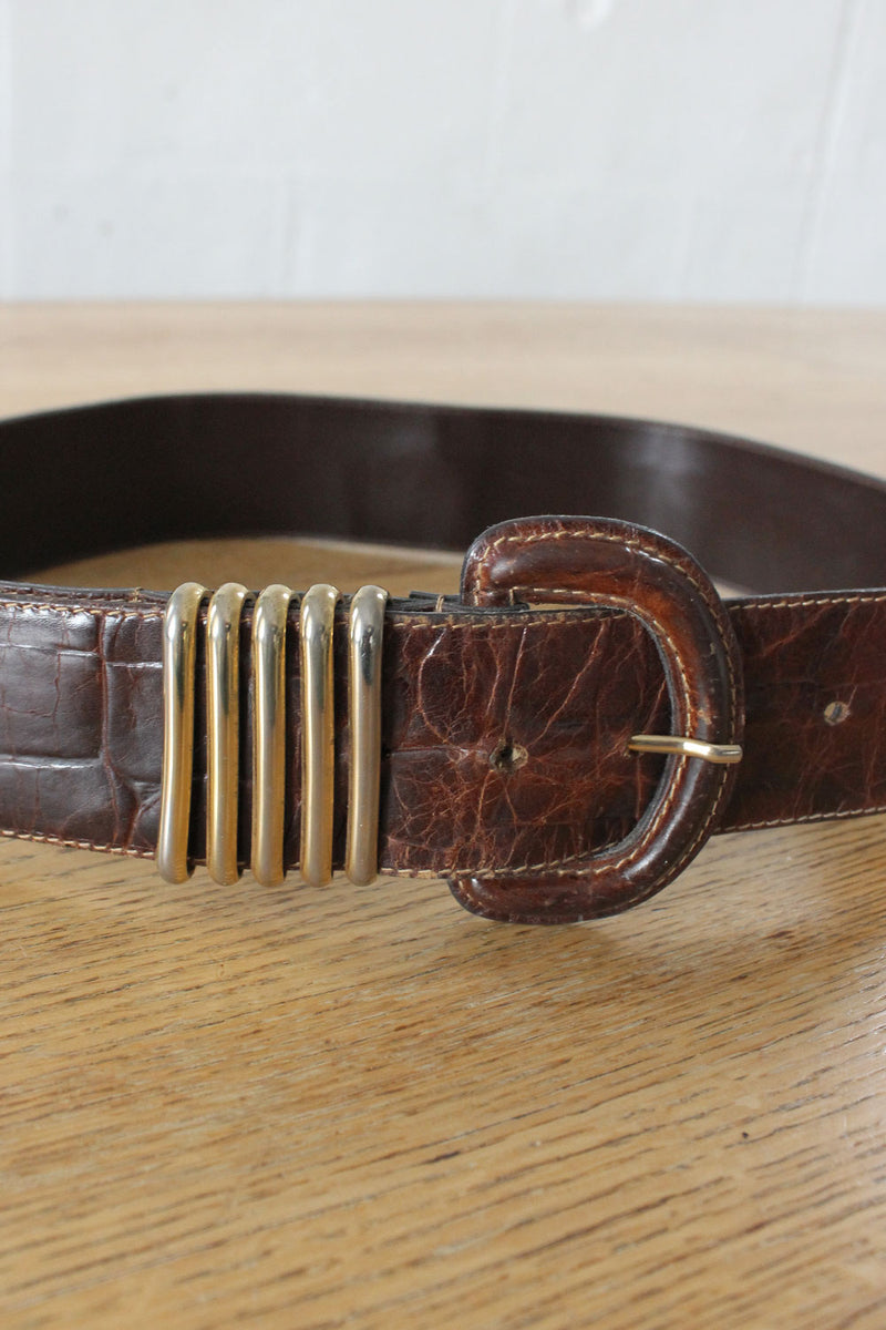 Furla Gold Loop Belt