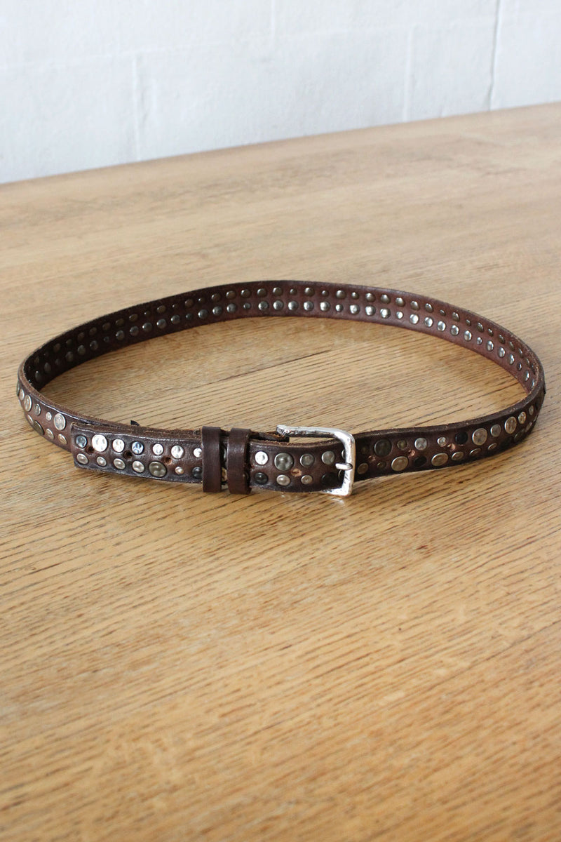 Mixed Metal Stud Belt