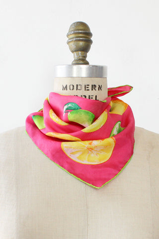 Sour Patch Silk Scarf