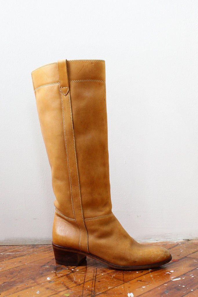 Camel Ranch Boots 7