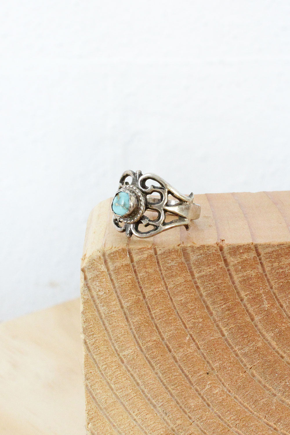 Blossoming Turquoise Ring