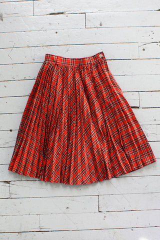 Top Ten Tartan Skirt XS